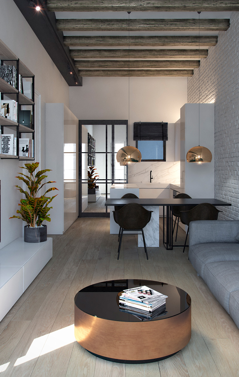 Pau Claris apartment | Mimouca Design