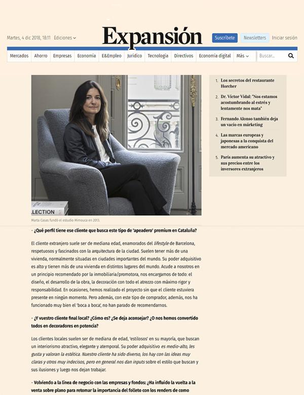 Web Expansión | Mimouca Design