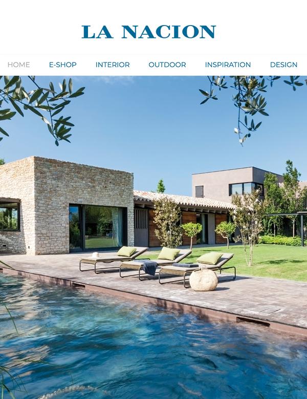 Web La Nacion | Mimouca Design