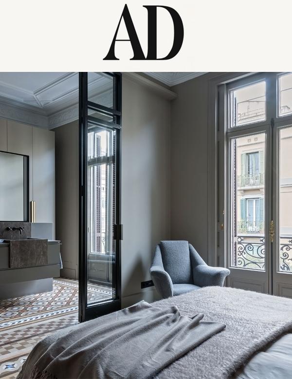 Web Revista AD (Rusia) | Mimouca Design