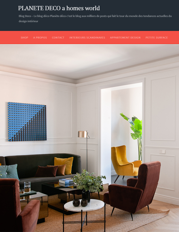 Web Planete Deco (france) | Mimouca Design